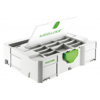 Festool Systainer SYS 1 T-LOC Storage Box with Lid - SYS 1TL-DF