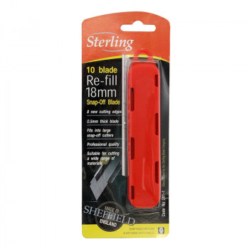 Sterling 18mm Knife Blades 10pk