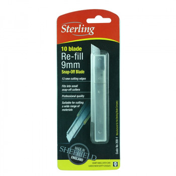 Sterling 9mm Knife Blades 10pk