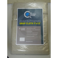 CQ Canvas Drop Sheets 9 x 12