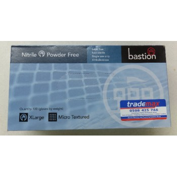 Nitrile Disposable Gloves - 100pk