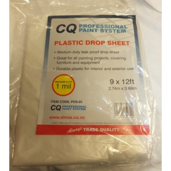 CQ Plastic Drop Sheet