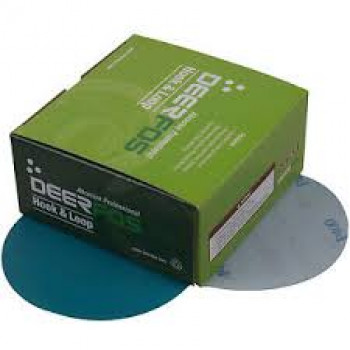 Deerfos Sanding Discs 125mm 40g Box 50