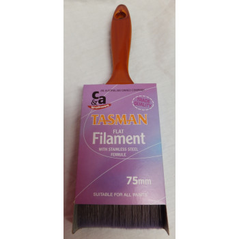 Tasman Brush Flat 75mm