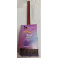 Tasman Brush Oval 75mm