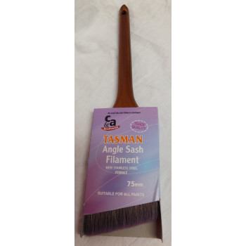 Tasman Brush Angle Sash 75mm