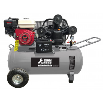 8HP Electric Start Petrol Compressor w/ 120L Tank