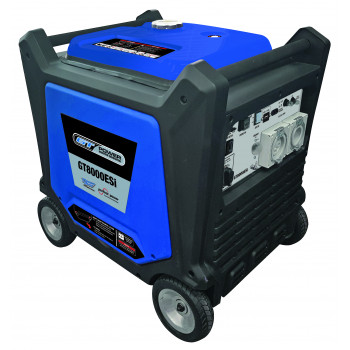 8000W Push Button Start Silenced Inverter Generator